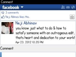 Loving words from Neji