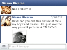 Love from Jenisa in PA