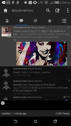 Retweet from Apollonia Kotero